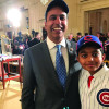 Krishnamoorthi in White House Attends Chicago Cubs' Official Visit
