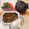 Saturday going on Sunday … and Maa's Meat Kofta Curry with a difference