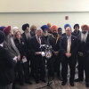 Assemblyman Weprin, elected officials stand with Sikh taxi driver Harkirat Singh