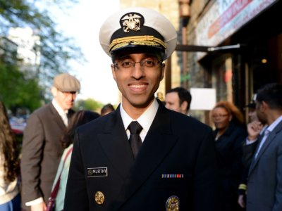 Vivek Murthy, the 19th Surgeon General of the United States of America.