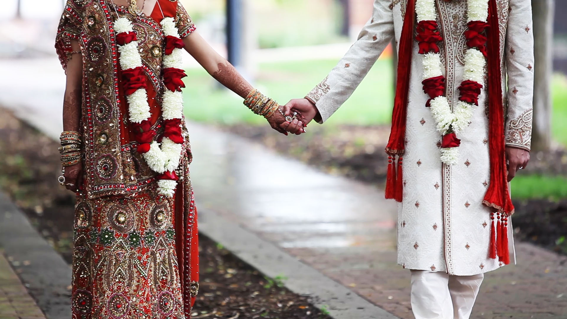 Couple Nri indian married