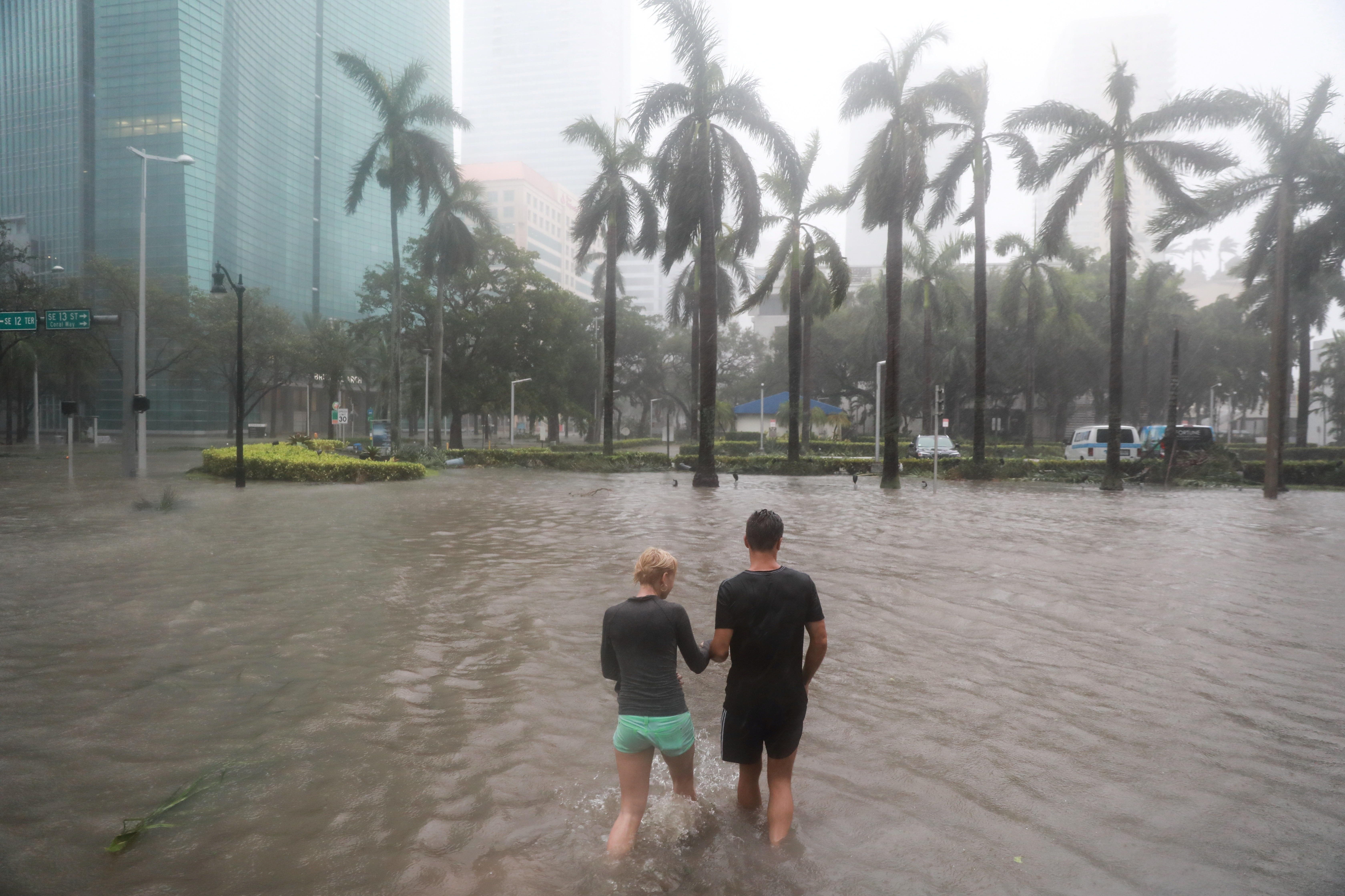 Storm Irma Brings Flooding To Parts Of Florida Cuba