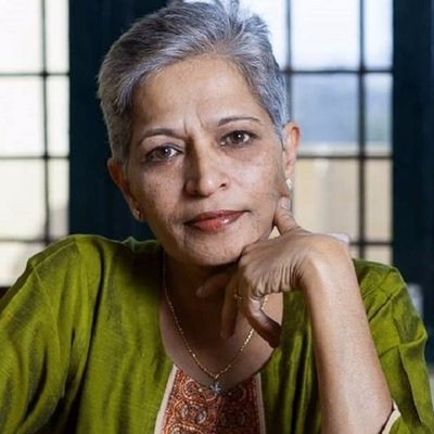 Senior journalist Gauri Lankesh's killing condemned