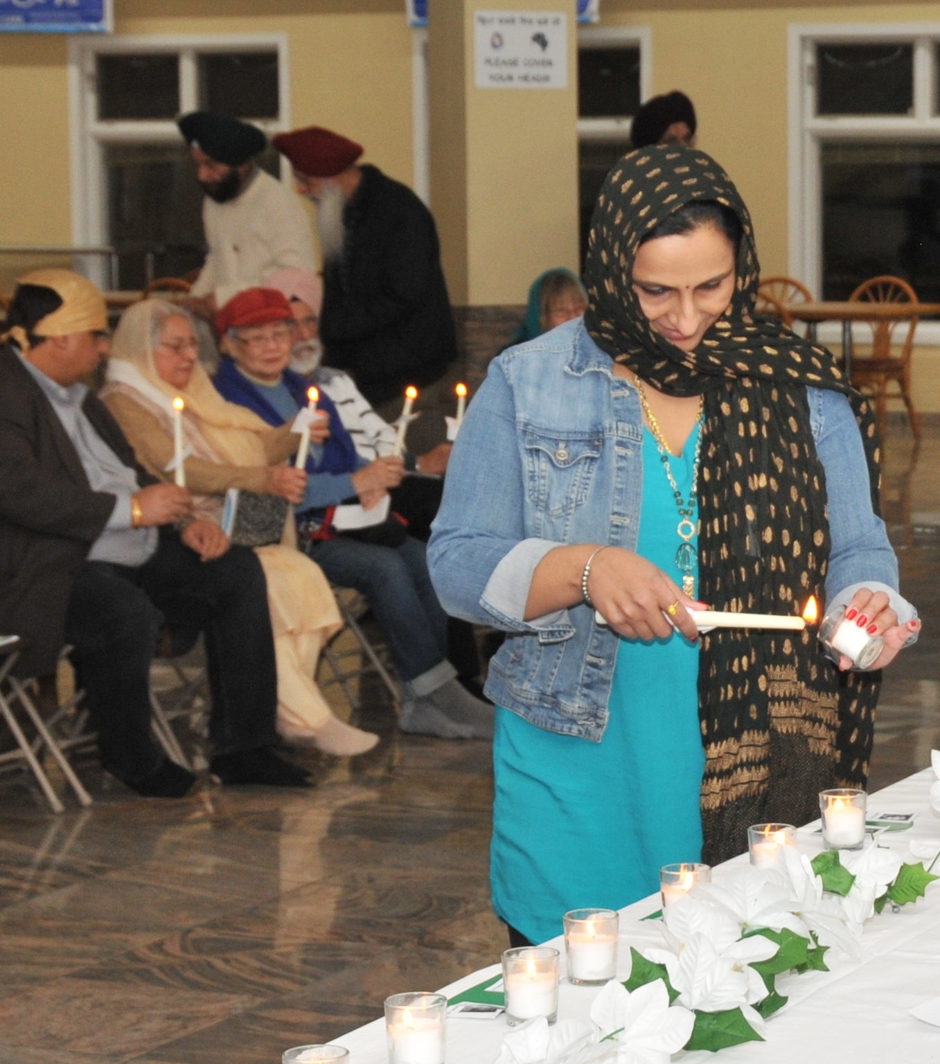 Chasing Justice Victims Of Colorado Gun Violence Names: Sikh Organization Of Illinois Holds Candle Light Vigil For