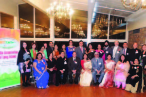 Newly elected members of the Executive Council of the India Association of Long Island, were sworn in Jan. 9, in Merrick, Long Island.