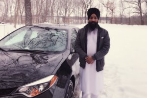 Gurjeet Singh, an Illinois religious leader, says he was attacked by a gunman while driving for Uber. (Courtesy of the Sikh Coalition)