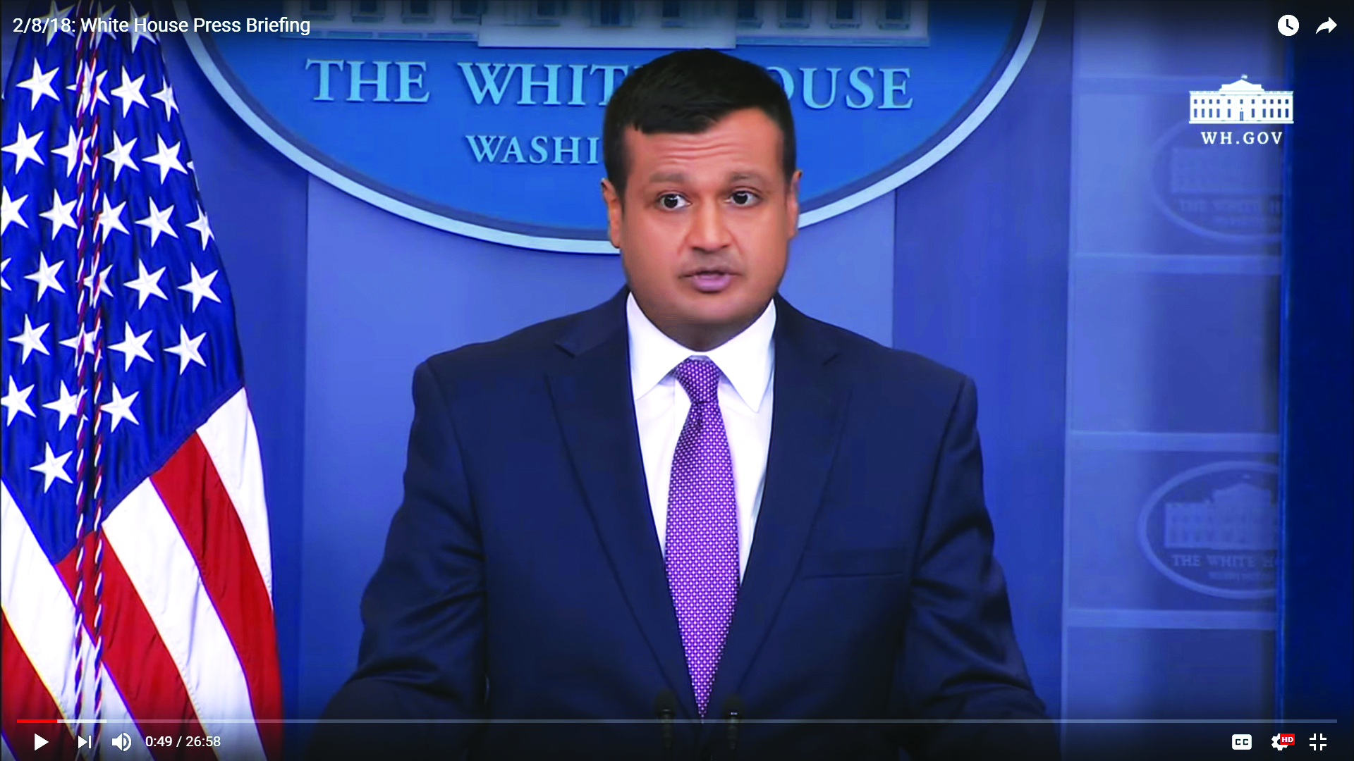a48c7b4df7 ... White House deputy principal press secretary, now appointed by Trump to  liaison with Congress on selecting a new Supreme Court Justice (Photo:  YouTube)