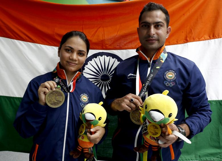 Asian Games: Flags rise again for swimming medalists after Sun's demand