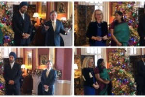 The U.S. State Department hosted a farewell party for departing Indian Ambassador to the U.S. Navtej Sarna Dec. 13. (Photos: Indian Embassy)