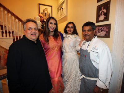 Celebrity designers Sandeep Khosla ,Meera Gandhi,Mirai Doshi ,Top Cher winner celebrity chef Floyd Cardozo at right  ...pic Mohammed Jaffer-SnapsIndia
