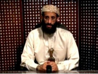 Anwar al-Awlaki, a U.S.-born cleric linked to al Qaeda's Yemen-based wing, gives a religious lecture in an unknown location in this still image taken from video released by Intelwire.com on September 30, 2011. REUTERS/Intelwire.com.
