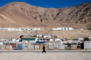 Chinese soldiers have been spotted in the remote, high-altitude town of Murghab, Tajikistan. Locals say dozens, maybe hundreds of Chinese soldiers stay in an outpost 90 miles south of Murghab on the border with Afghanistan. (Washington Post photo by Gerry Shih.
