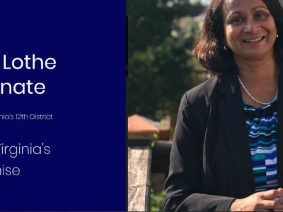 Veena Lothe, an attorney, is running for the Virginia State Senate from District 12, primaries for which are scheduled for June 11, 2019. (Photo: Veenalothe.com  with permission from Veena Lothe)