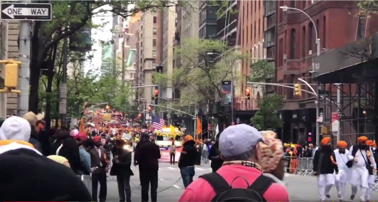 Annual Sikh Day parade held in New York City attracts