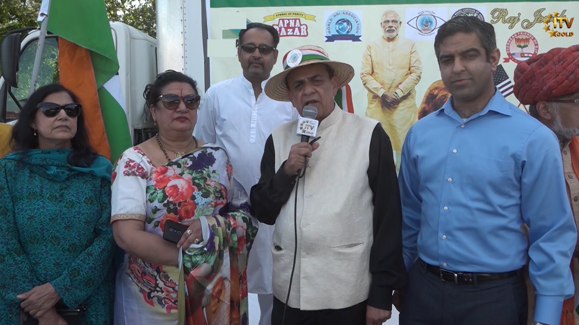 Indians and Indian-Americans in U S  celebrate Prime Minister Modi's