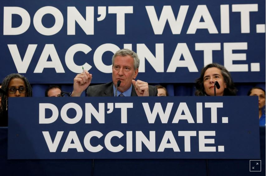 New York City measles outbreak has ended, health officials say
