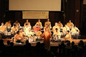 A unique tabla symphony performance titled 'Tablaphilia' was part of the All-Night Concert of Indian Classical Music May 18-19, 2019. (Photo courtesy Indian Consulate in New York)