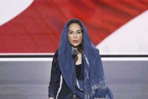 Indian-born Sikh Republican activist Harmeet Dhillon delivers the invocation in Punjabi and English at the start of the second session at the Republican National Convention in Cleveland, Ohio, U.S. July 19, 2016. REUTERS/Mike Segar