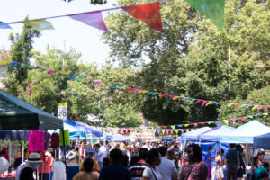 Thousands attended the July 13, 2019 Chatpati Mela organized by Chhaya Community Development Corporation, in Jackson Heights, Queens. (Photo: courtesy Chhaya CDC)