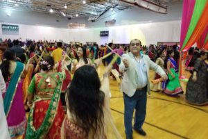 More than 900 people attended the Navratri celebrations hosted by the Gandhi Samaj of Chicago Sept. 28. 2019. (Photo courtesy Hitesh Gandhi, GSC)