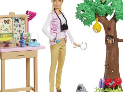 Barbie and National Geographic partner to create a new product line and content centered around exploration, science, conservation and research. PHOTO: Mattel HANDOUT via The Washington Post