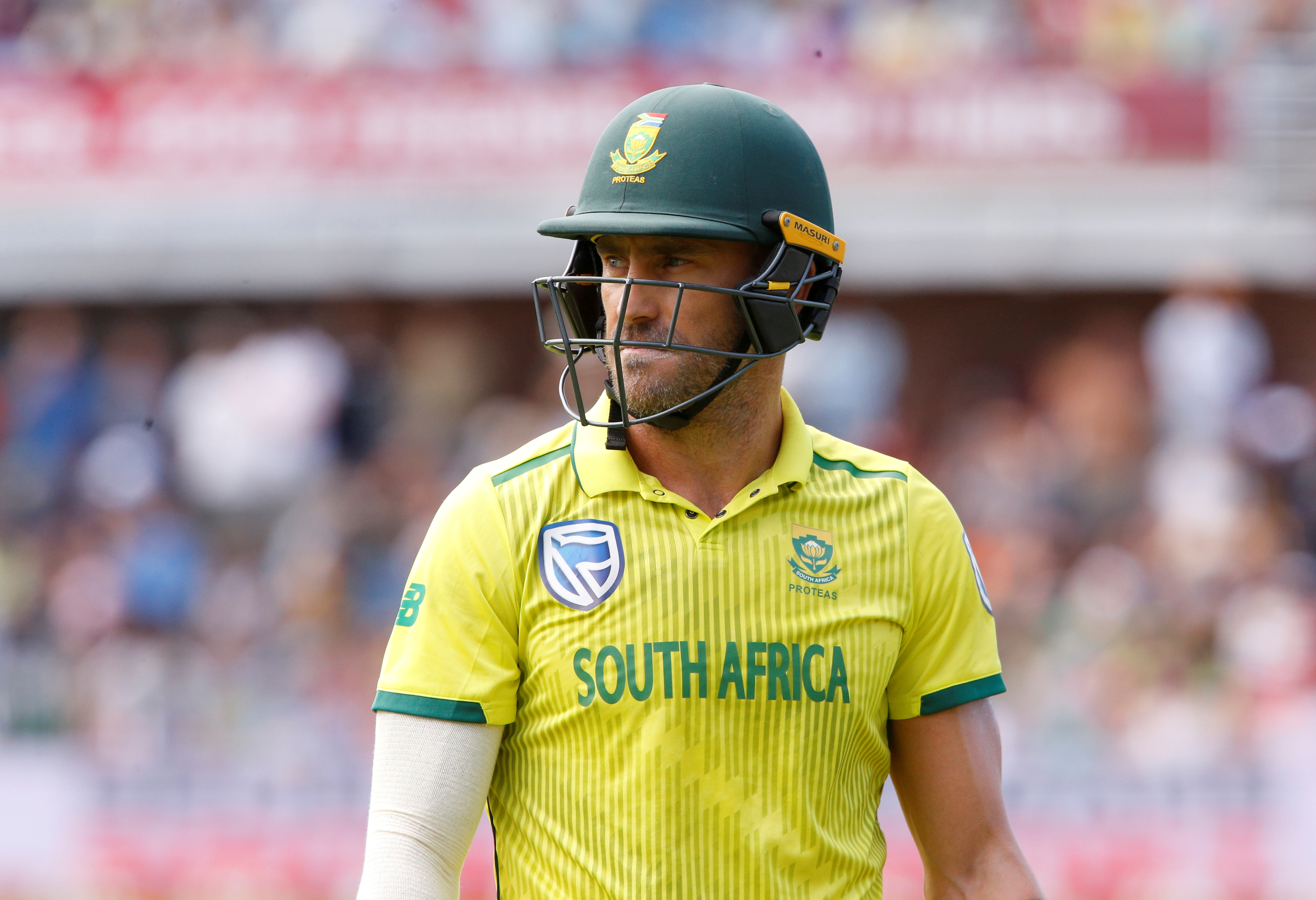 Du Plessis back in South Africa's ODI squad for India series