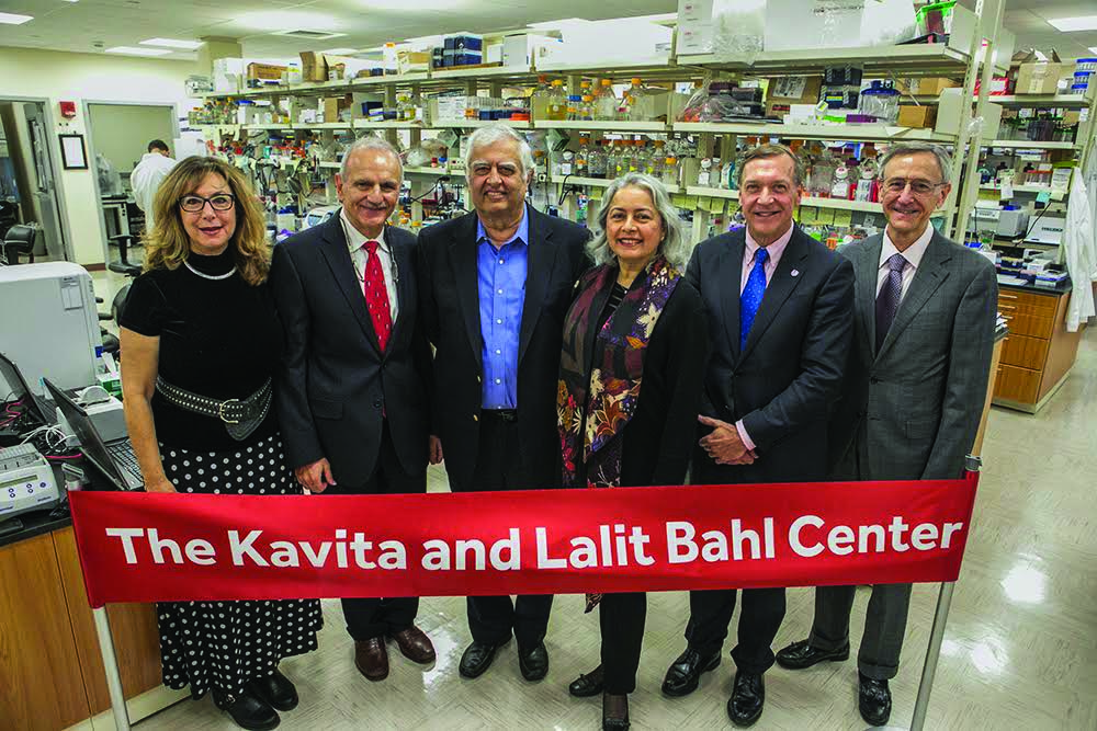 Stony Brook, NY; Stony Brook University Medical Center: Opening ceremony of the Cancer Center's new Kavita and Lalit Bahl Center for Metabolomics and Imaging Center.APPROVED