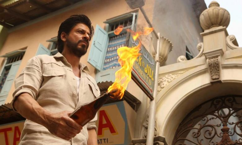 Handout picture of Shah Rukh Khan in Raees
