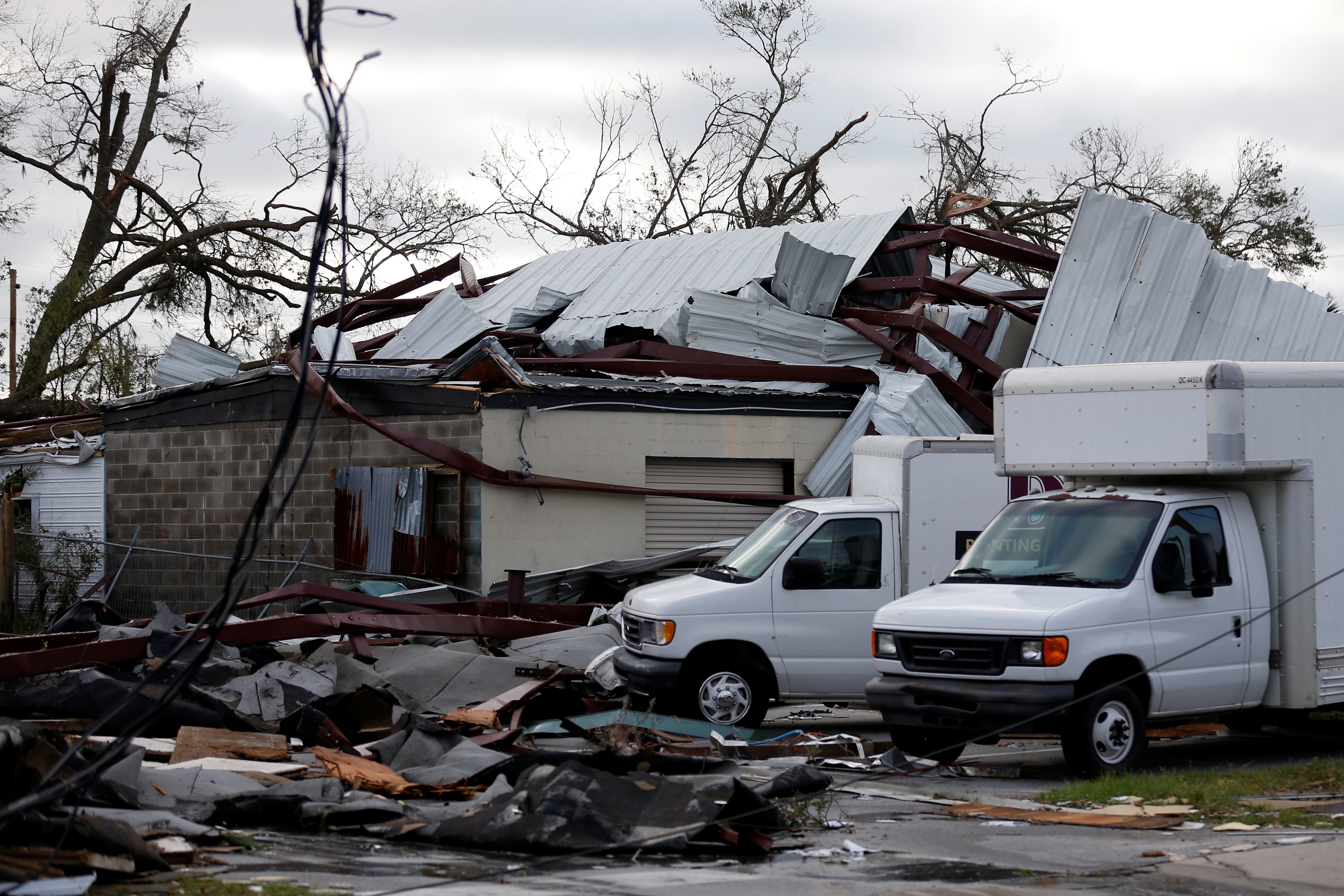 Buildings Damaged By Hurricane Michael Are Seen In Panama City Florida U S October 11 2018 Reuters Jonathan Bachman Mexico Beach