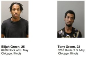 Chicago Police Departmnt spokesman Anthony Guglielmi tweeted charges with photos of two men suspected in slaying of Indian-American landlord Vasudevareddy Kethireddy, 76, of Rolling Meadows, Illinois (Photo: Officer Guglielmi's tweet)