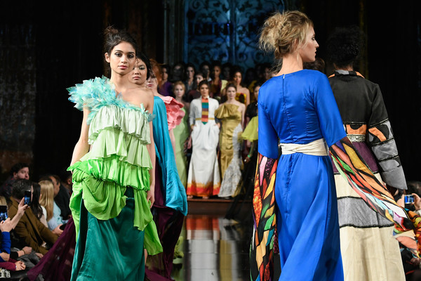 Vibrant India New York Fashion Week News India Times