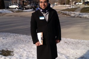 Parth Patel, candidate for trustee of Bartlett Public Library District in Chicagoland, in the April 2 runoffs. (Photo: Feb. 14, 2019 on Twitter and on facebook.com/parthforlibrarytrustee/)