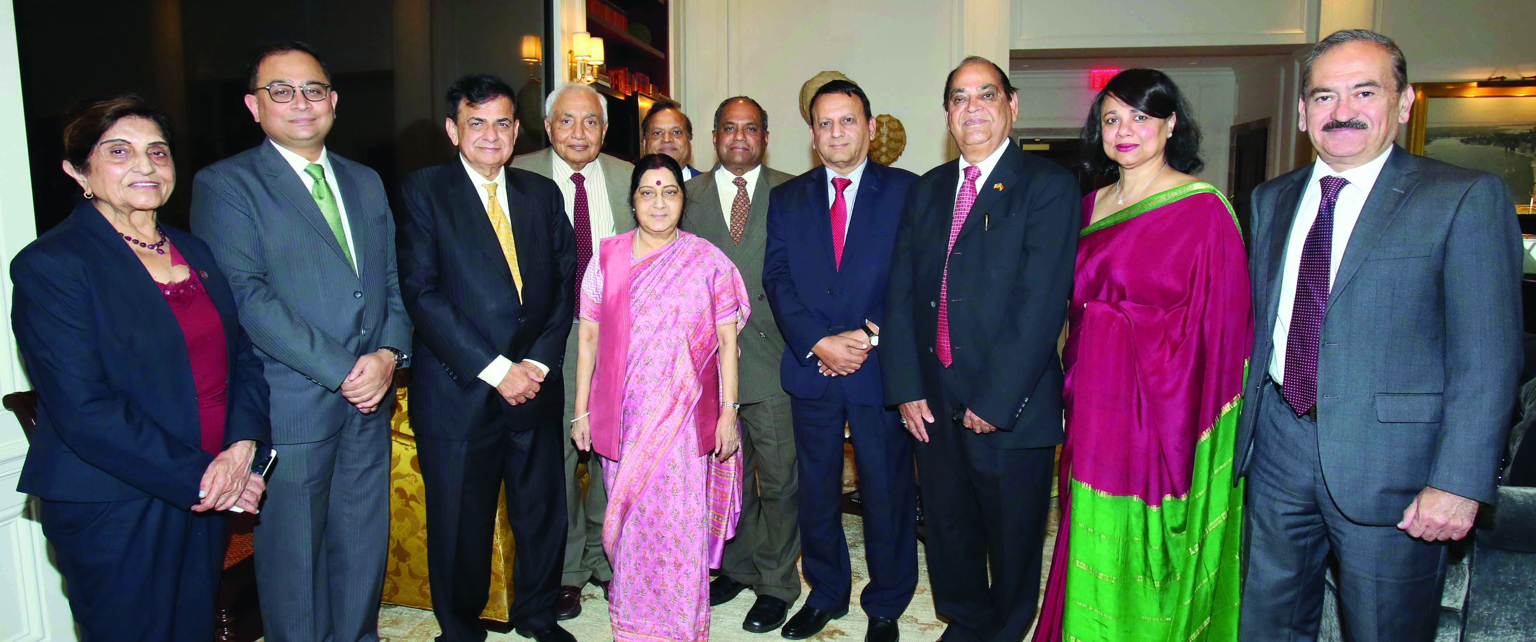 India's former External Affairs Minister and BJP leader Sushma