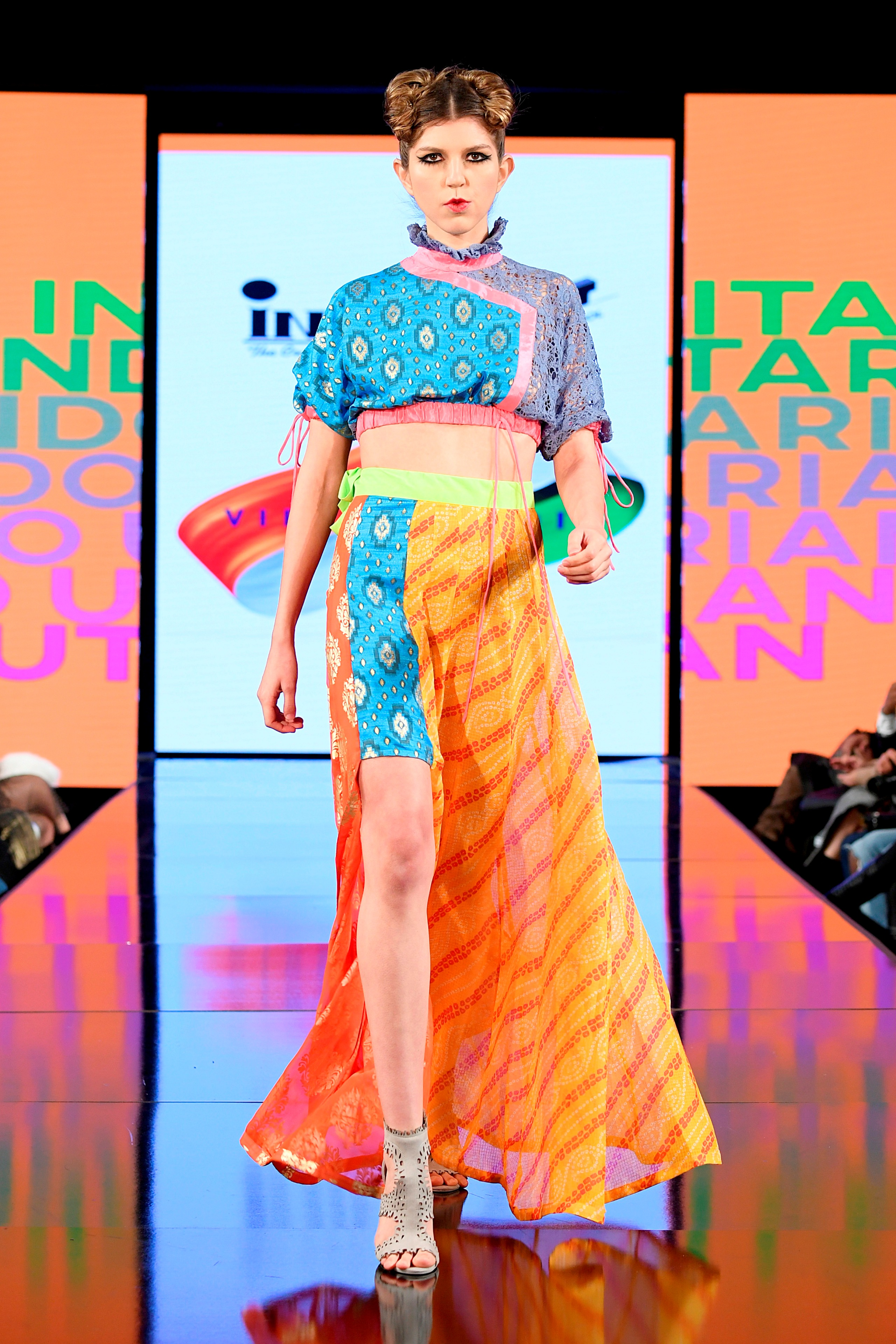 Indian Students Display Vibrant Fashions At New York Fashion Week News India Times