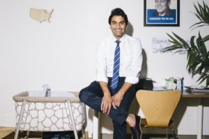 Suraj Patel, a former Obama campaign staffer and attorney, has never held public office. MUST CREDIT: Photo by William Mebane for The Washington Post