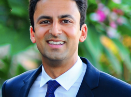 Nitin Agrawal, CEO of Interstride, a company that helps international students navigate the immigration system and look for jobs in the U.S.. Photo: courtesy Nitin Agrawal