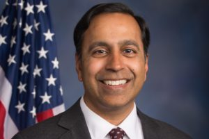Rep. Raja Krishnamoorthi, D-Illinois,was re-elected for the third term to Congress Nov. 3, 2020 election day.  Photo: Krishnamoorthi.house.gov