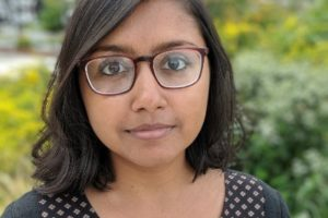 """Megha Majumdar's debut novel, """"A Burning"""" shortlisted for the 2021 Andrew Carnegie Medals for Excellence in Fiction and Nonfiction. Photo: Courtesy - Megha Majumdar Twitter"""