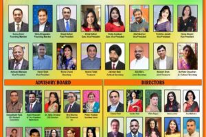 Federation of Indian Associations-Chicago officeholders. Photo: FIA-Chicago