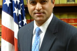 Acting U.S. Attorney for the Southern District of Ohio Vipal J. Patel who took over his new position March 1, 2021. Photo: Twitter SDOHNEWS