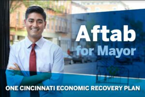 Aftab Pureval, candidate for Mayor of Cincinnati, Ohio. Photo: Pureval campaign