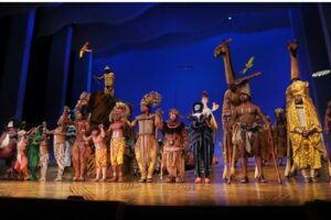 Lion King returns to Broadway. First day of show, Photo TDW+Co