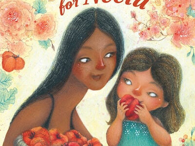 """Padma Lakshmi, author of """"Tomatoes for Neela,"""" a children's book with illustrations by Juana Martinez-Neal. MUST CREDIT: Juana Martinez-Neal/Viking BFYR/Penguin Young Readers via The Washington Post Syndicated Services"""