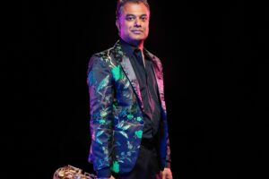 Rudresh Mahanthappa Photo by David Crow provided by American Composers Forum via press release.